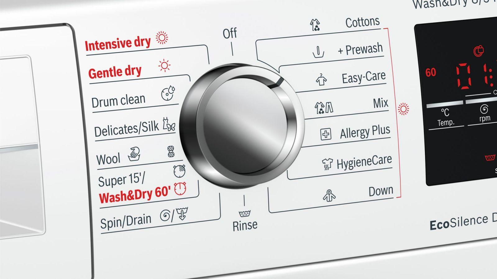 Máy giặt kết hợp sấy cửa trước HMH.WVG30462SG 2