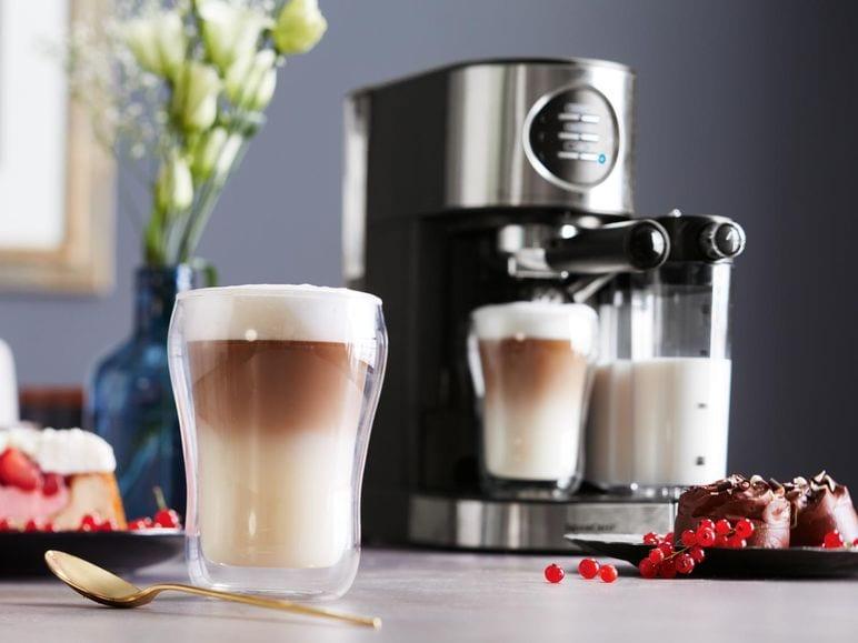 máy pha cafe SILVERCREST Espresso SEMM 1470 A1