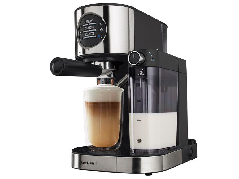máy pha cafe SILVERCREST Espresso SEMM 1470 A1 1