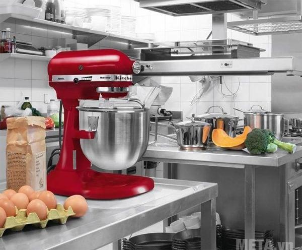 Máy trộn KitchenAid 220v màu đỏ-5KSM3311XEHT 1