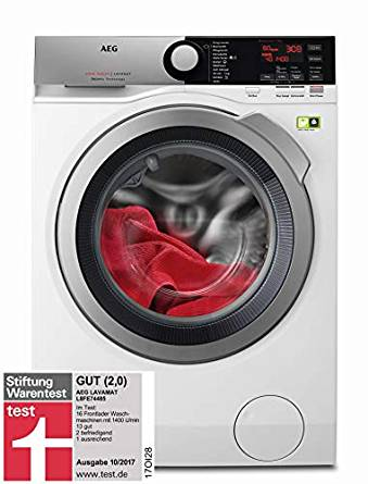 Máy giặt AEG L8FE74485 Waschmaschine Frontlader