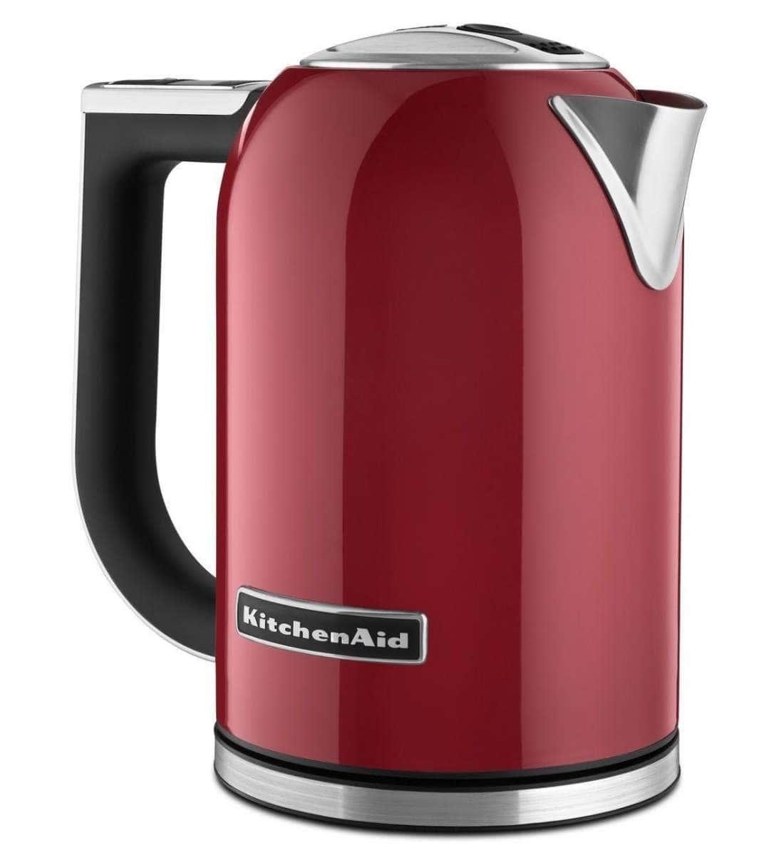Ấm đun nước siêu tốc điện tử KitchenAid 1,7 lít màu đỏ 5KEK1722EER-01