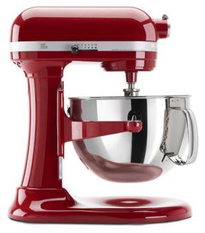 Máy trộn Bát nâng chuyên nghiệp 6.9l màu đỏ KitchenAid 5KSM7990XEER 1
