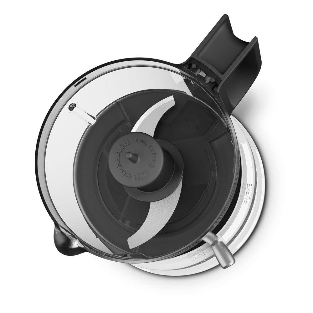 KitchenAid KFC3516WH 3.5 Cup Mini Food Processor, White 1