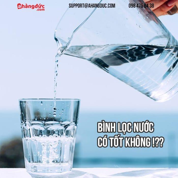 Hiểm họa từ các hóa chất có trong nước và bình lọc nước là cần thiết