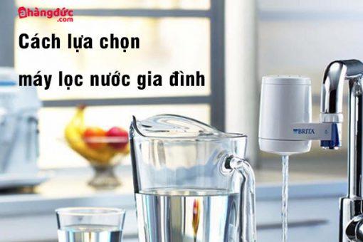 Một số điều cần biết trước khi chọn mua máy lọc nước
