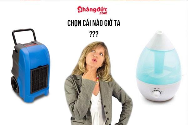 Nên mua máy tạo ẩm hay hút ẩm