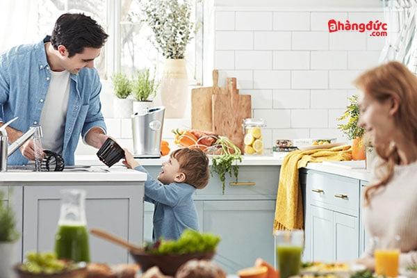Cách làm sạch máy ép hoa quả