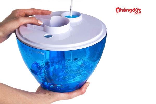 Máy tạo ẩm rất dễ dàng chùi rửa - vệ sinh