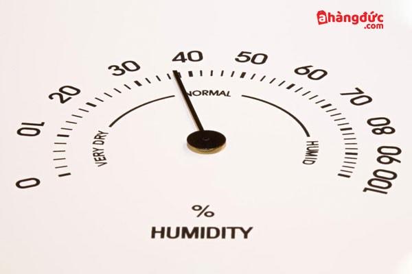 Độ ẩm không khí bao nhiêu là tốt?