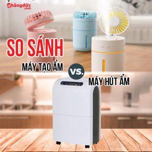 Phân biệt máy tạo ẩm và máy hút ẩm