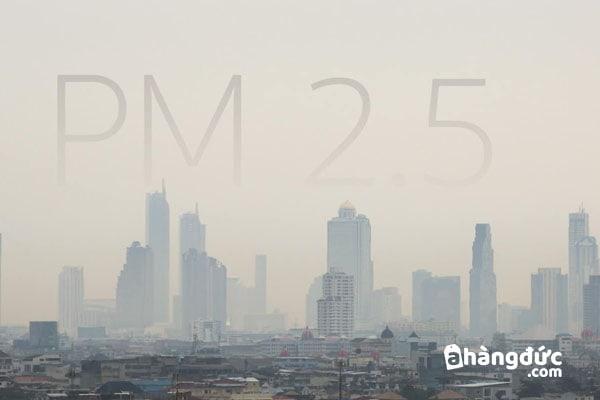 Máy lọc không khí hút được cả bụi PM 2.5