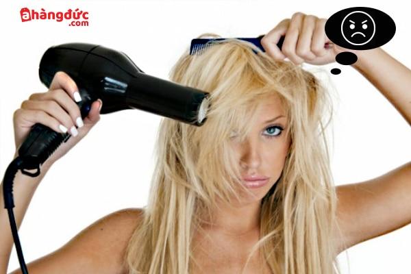 Không phải ai cũng thích thú với việc sấy tóc vào ngày nóng