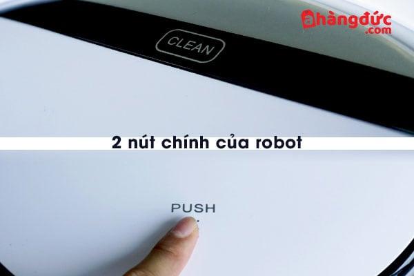 2 nút thường sử dụng nhất trên thân máy robot