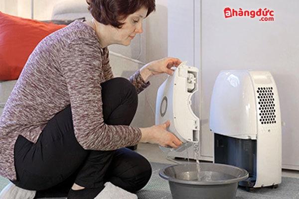 Cả hai loại máy đều cần vệ sinh thường xuyên