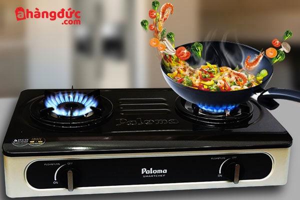 Bếp ga nấu ăn ngon hơn