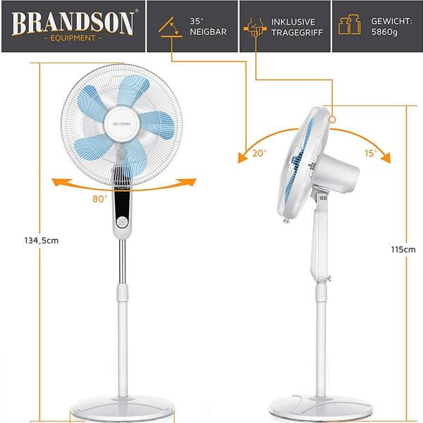 Quạt cây Brandson 60 w WDP 303906 trắng