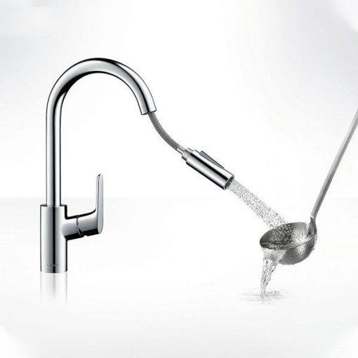 Vòi rửa bát Hangrohe Focus 240