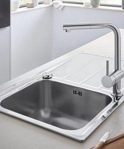 Vòi rửa bát rút dây Grohe 32168000 Minta Kitchen