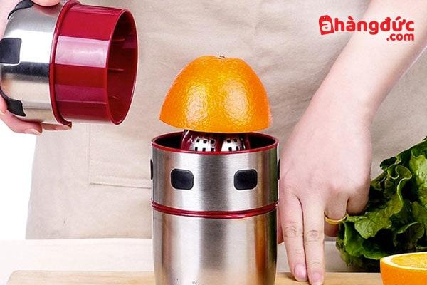 Cách sử dụng máy vắt cam