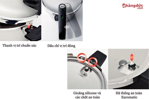 cách sử dụng nồi áp suất fissler