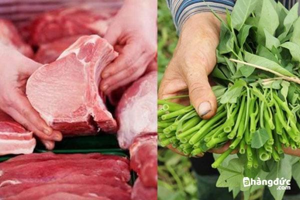 Cách chọn rau thịt