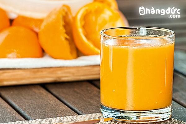 Lợi ích của nước cam