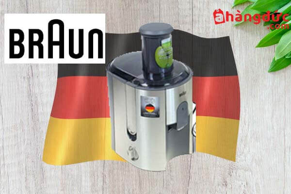 Máy ép chậm thương hiệu Braun Đức