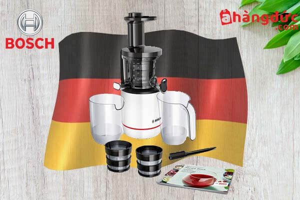 Máy ép chậm thương hiệu Bosch của Đức