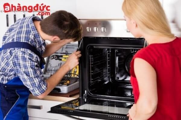 Sửa lò nướng không hoạt động, không lên nguồn