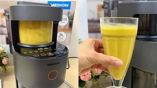 Medion MD19725 giúp tạo ra nguồn thức uống thơm ngon bổ dưỡng