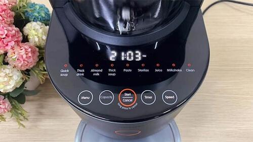 Chức năng của máy làm sữa hạt Medion MD19725 đơn giản dễ sử dụng