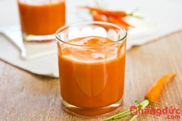 Cách làm nước ép cà rốt dưa leo