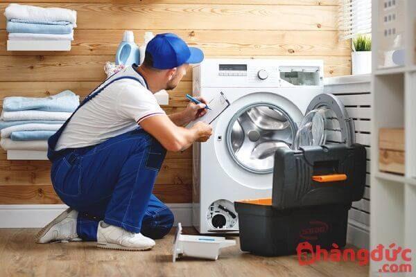 Sửa máy giặt đang giặt bị ngừng