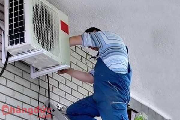 Cục nóng lắp cao hơn ảnh hưởng hiệu suất hoạt động