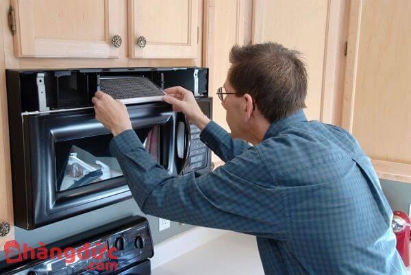 Dịch vụ sửa lò nướng không nóng tại nhà