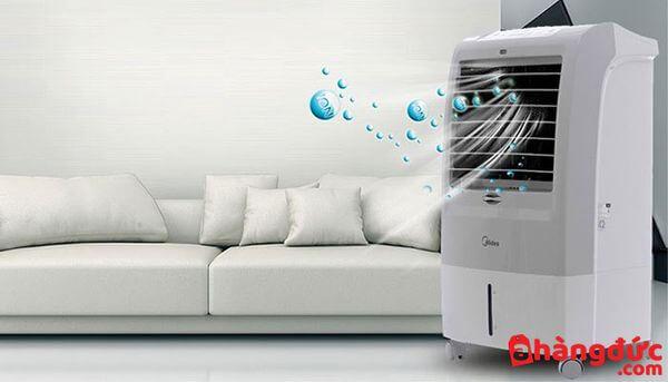 Cách thức hoạt động của quạt hơi nước