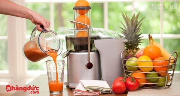 Cách sử dụng máy ép trái cây