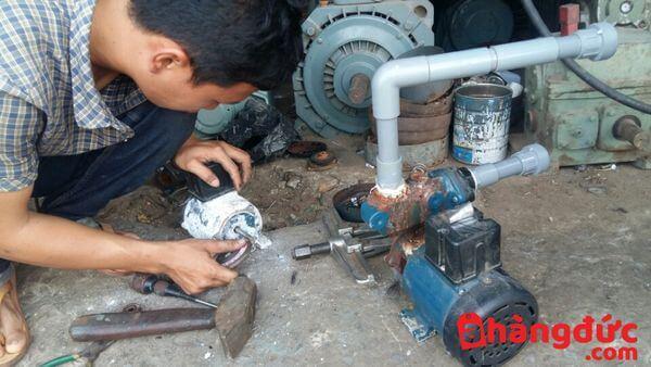 Dịch vụ sữa chữa máy bơm lên nước yếu