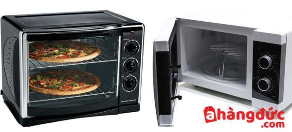 Lò vi sóng và lò nướng mang lại nhiều tiện lợi cho nhà bếp