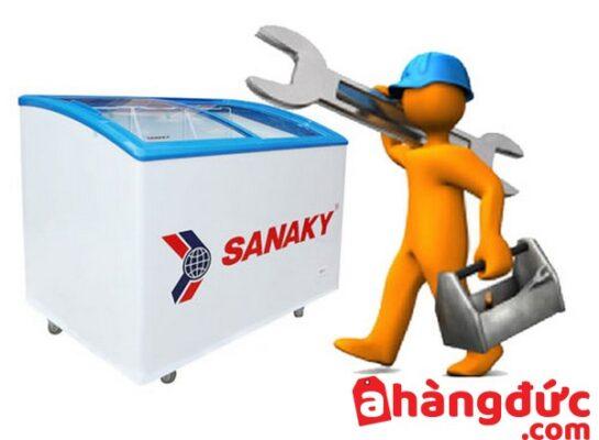 tủ lạnh sanaky bị lỗi