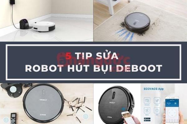 Sửa chữa robot hút bụi Deebot