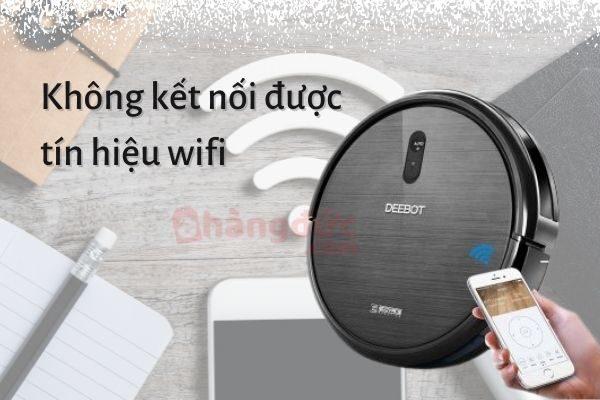 Không kết nối tín hiệu wifi