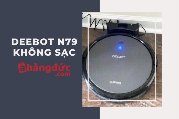 Robot hút bụi Deebot N79 không sạc