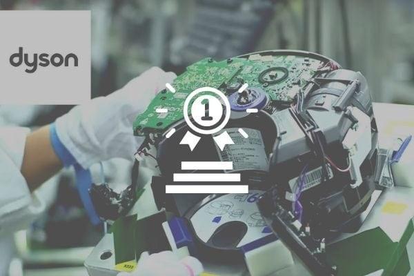 quy trình sửa chữa robot hút bụi dyson