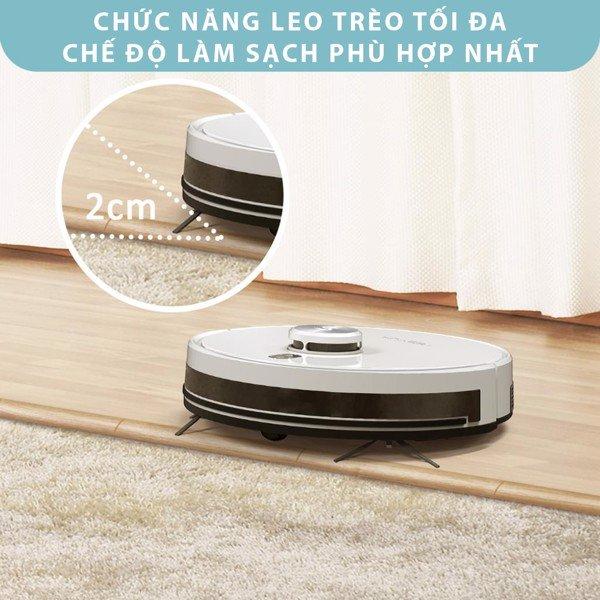 Robot Hút Bụi Lau Nhà Tesvor S6 Turbo (New 2021)